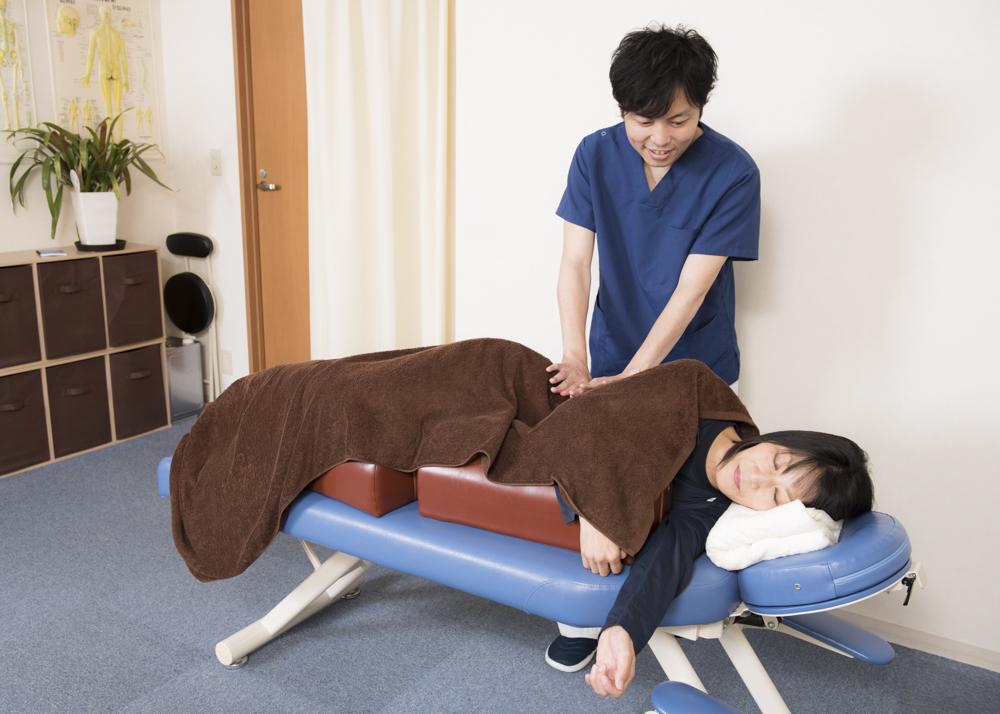 産前の施術
