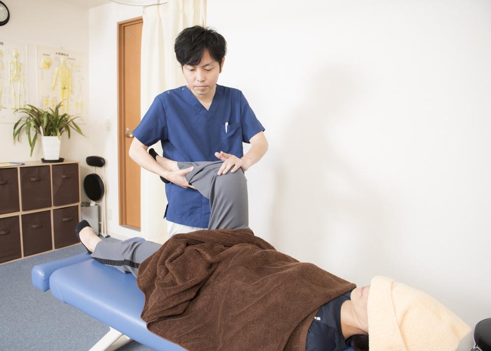 膝関節の手技